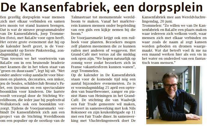 Weekblad Waalwijk april 2018