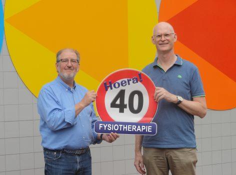Van Heeswijk viert 40e verjaardag fysiopraktijk
