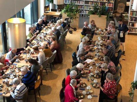 Vijftig lunchers in de Week tegen eenzaamheid