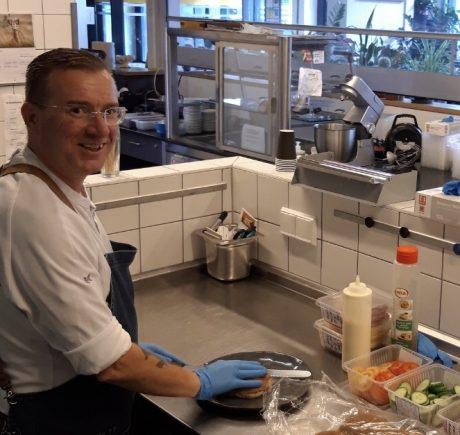 De Kansenfabriek is voor kok André een tweede thuis